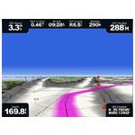 bluechart g2 vision - tryb nawigacji