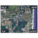 bluechart g2 vision - widok satelitarny