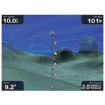 bluechart g2 vision - widok 3D - pod wodą